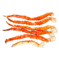 Linton's Seafood 10 lb. Frozen Alaskan King Crab Legs