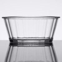 GET ER-045-CL 4 oz. Clear Fluted SAN Plastic Ramekin   - 48/Case