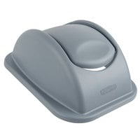Rubbermaid 1779742 Gray 15 inch Untouchable Soft Wastebasket Lid