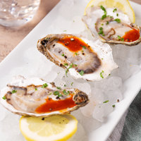 Linton's Seafood Live Oysters in the Shell - 12/Case