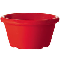 GET S-660-R 6 oz. Red Smooth Melamine Ramekin - 48/Case