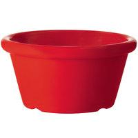 GET S-660-R 6 oz. Red Smooth Melamine Ramekin - 48/Case