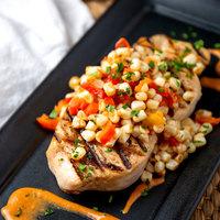 Linton's Seafood 8 oz. Swordfish Steak - 2/Case