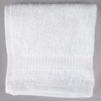 Hotel Wash Cloth - Oxford Belleeza 13 inch x 13 inch 100% Ringspun Cotton 1.5 lb. - 300/Case