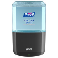 Purell 6434-01 Healthy Soap ES6 1200 mL Black Automatic Hand Soap Dispenser