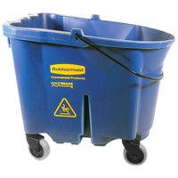 Rubbermaid FG757088BLUE WaveBrake® 35 Qt. Blue Mop Bucket