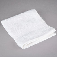 Oxford Belleeza 13 inch x 13 inch 100% Ringspun Cotton Wash Cloth 1.5 lb. - 12/Pack