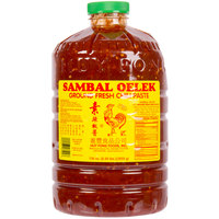 Huy Fong 8.5 lb. Sambal Oelek Fresh Ground Chili Paste - 3/Case