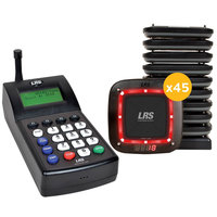 LRS Connect Pro Guest Paging System 45 Pager Kit with Connect Transmitter