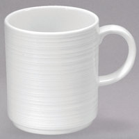 Oneida R4570000572 Botticelli 12 oz. Bright White Porcelain Mug - 36/Case