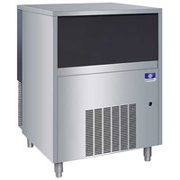 Manitowoc UNF0300A 29 inch Air Cooled Undercounter Nugget Ice Machine with 50 lb. Bin - 300 lb.