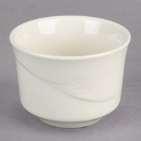 Oneida F1040000700 Espree 7.5 oz. Cream White China Bouillon Cup - 36/Case