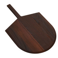 American Metalcraft AW2616 17 inch x 16 inch Ash Wood Serving Peel