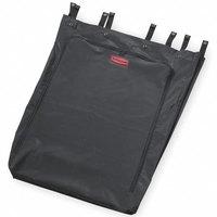 Rubbermaid FG635000BLA Executive 30 Gallon Black Linen Hamper Bag