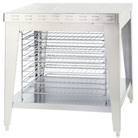 Alto-Shaam 5003786 Mobile Stand with Cooling Racks and  for ASC-4E and ASC-4G Convection Ovens - 38 inch