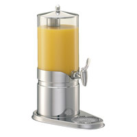 Frilich ESC050E 1.3 Gallon Plastic Juice Dispenser Set