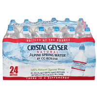 Crystal Geyser Sport Cap 750 mL Natural Spring Water   - 24/Case