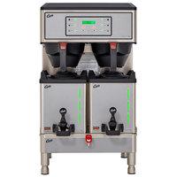 Curtis GEMXTIFT10A1000 G3 Gemini IntelliFresh Twin 1.5 Gallon Satellite Coffee Brewer with FreshTrac Servers - 220V, 5100/7500W