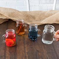 Acopa 4.75 oz. Mini Mason Jar with Handle - 4/Case