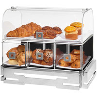 Rosseto BD140 Acrylic Bakery Case with Stainless Steel Base