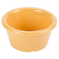 GET S-620-TY Diamond Mardi Gras 2 oz. Tropical Yellow Melamine Ramekin - 48/Case