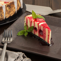 Pellman 9 inch Strawberry Swirl Cheesecake - 6/Case