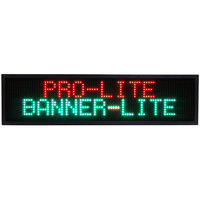 Banner-Lite 2025 40 inch Programmable Scrolling Color LED Message Banner