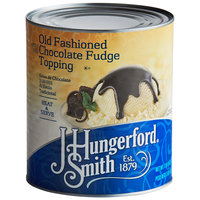 J. Hungerford Smith #10 Can Old Fashioned Chocolate Fudge Topping   - 6/Case