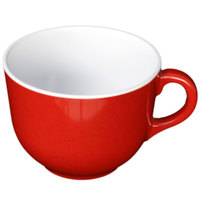 Thunder Group PS9475RD Passion Red 23 oz. Melamine Mug - 6/Pack