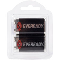 Panasonic 9V Super Heavy Duty Battery Two-Pack