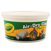 Crayola 575050 2.5 lb. White Air-Dry Clay Bucket