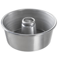 Chicago Metallic 46555 9 1/2 inch Glazed Aluminum Customizable Angel Food Cake Pan - 4 inch Deep