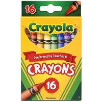 Crayola 523016 Classic Assorted 16 Color Crayon Box