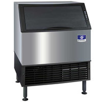 Manitowoc UYF-0310A NEO 30 inch Air Cooled Countertop Half Dice Ice Machine with 119 lb. Bin - 115V, 295 lb.