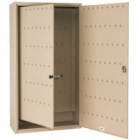 MMF Industries 201013003 Steelmaster Sand-Colored Fob-Friendly 130-Key Cabinet with Disc-Tumbler Key Lock