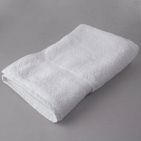 Oxford Regale 27 inch x 54 inch 100% Cotton Hotel Bath Towel with Dobby Border 15 lb. - 12/Pack