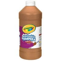Crayola 543115007 Artista II 16 oz. Brown Washable Tempera Paint