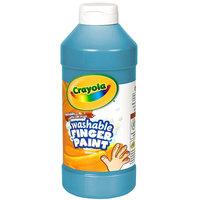 Crayola 551316042 16 oz. Blue Washable Finger Paint