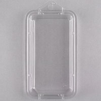 CKF 86669 Clear .75 oz. Hook Top Clamshell Herb Pack   - 500/Case