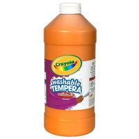 Crayola 543115036 Artista II 16 oz. Orange Washable Tempera Paint