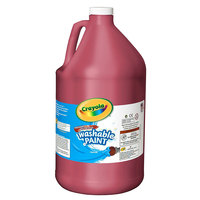 Crayola 542128038 1 Gallon Red Washable Paint