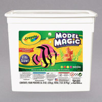Crayola 232413 Model Magic 2 lb. Assorted Neon Color Modeling Compound