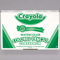Crayola 684240 Classpack 240 Assorted Color Watercolor Pencils