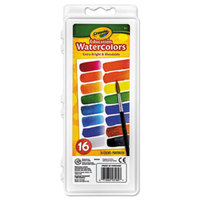 Crayola 530160 Assorted 16 Color Watercolor Paint Set