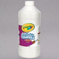 Crayola 543132053 Artista II 32 oz. White Washable Tempera Paint