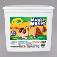 Crayola 232412 Model Magic 2 lb. Assorted Natural Color Modeling Compound