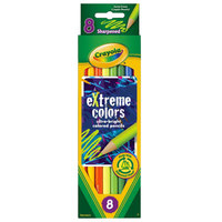 Crayola 681120 eXtreme Colors 8 Assorted Colored Pencils