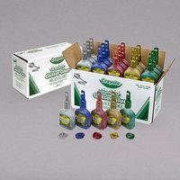 Crayola 690020 Classpack 4 oz. Assorted 5 Color Washable Glitter Glue - 20/Set