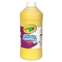 Crayola 543132034 Artista II 32 oz. Yellow Washable Tempera Paint