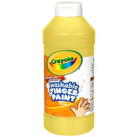 Crayola 551316034 16 oz. Yellow Washable Finger Paint